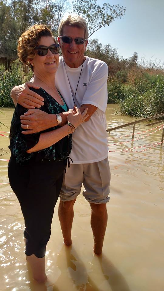 Jordan River baptismal Vows Tour